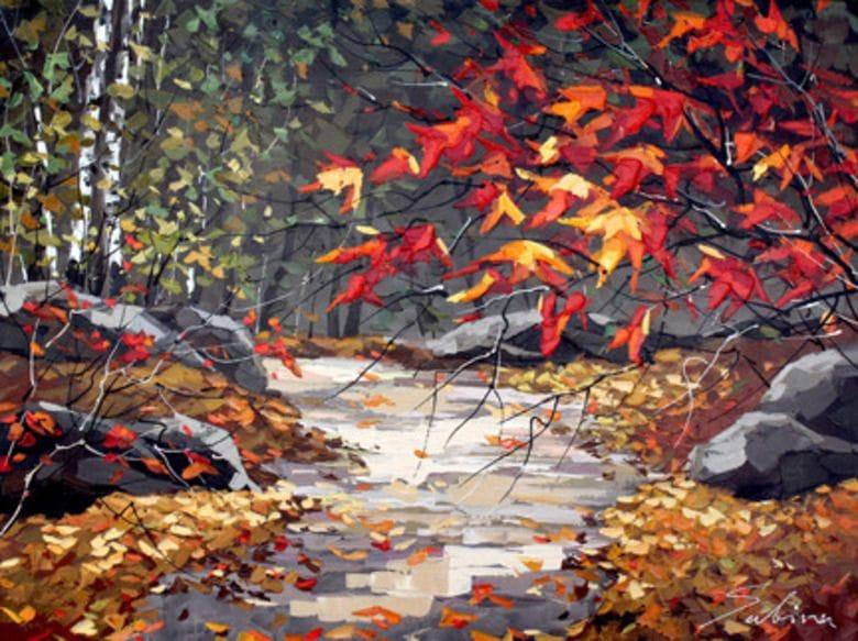 Leaf Laden Path