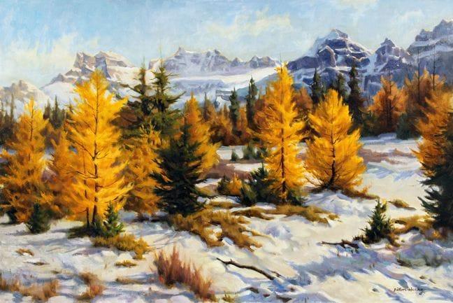 Golden Larch Valley