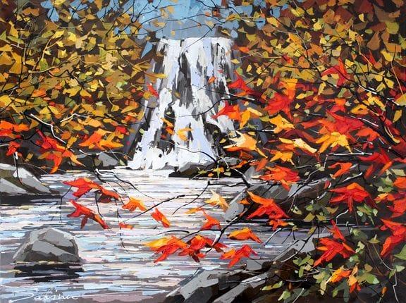 October Cascade
