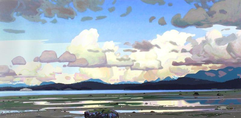 Thunderheads at Desolation Sound