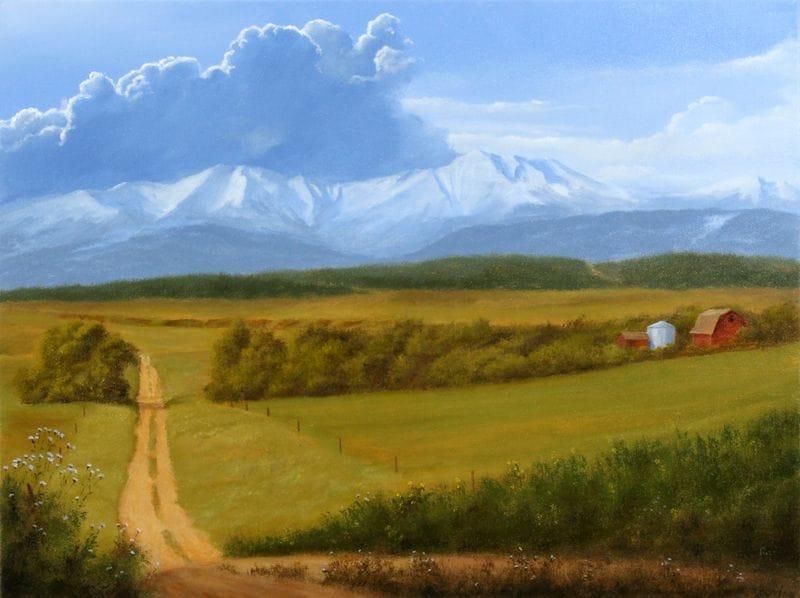 Farm Near Foothills
