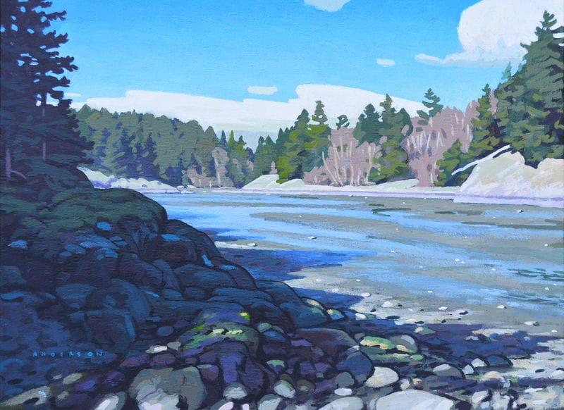 Low Tide in Summer, Run Cove