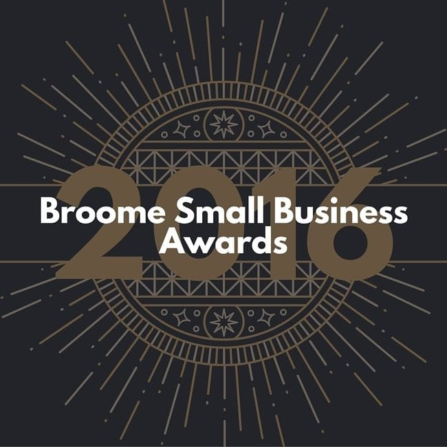 Applications open for 2016 Broome Small Business Awards