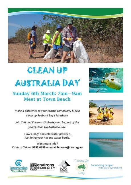 Businesses called on to help community clean up March 6