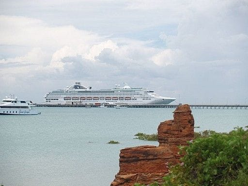 Dawn princess to arrive 11.45; no shuttle to Cable Beach