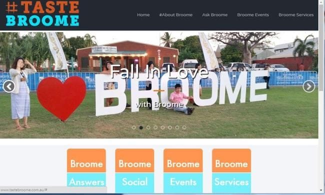 Disruptive Technology Meets Broome Tourism