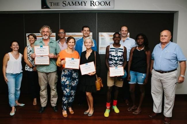 Agunya and Hive Handmade tie for first place in Broome Makers competition