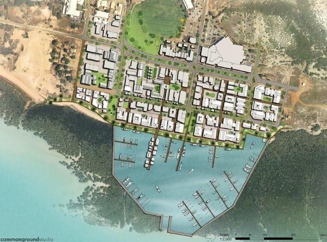 Chinatown - a Broome marina option