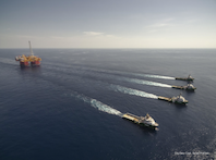 Ichthys: World's largest semi-submersible platform arrives in Australian waters