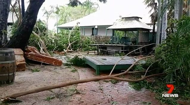 Disaster assistance following December's Tropical Cyclone Hilda