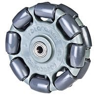 Rotacaster 125mm double omni-directional wheels