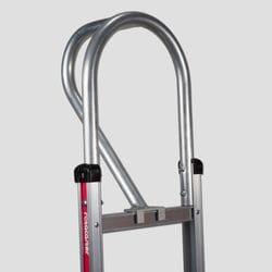 "Handle, Aluminium, Vertical Loop 52"" for Straight back frame, Magliner"