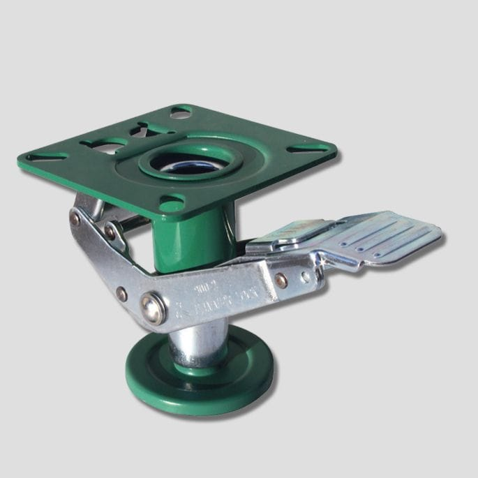 Floor Lock, Lift Up, 148/150mm Ht, green, 900-2