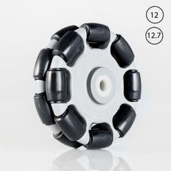 Rotacaster 125mm Double Polyurethane Roller / Nylon Bushing