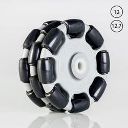 Rotacaster 125mm Triple Polyurethane Roller / Nylon Bushing