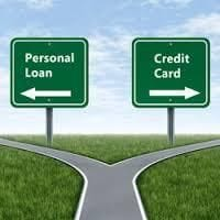 Personal loan or credit card - which is better?