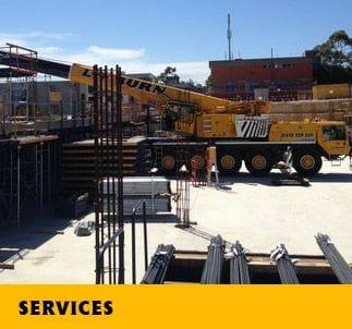 Lynburn Crane Hire   General Construction Works in Melbourne