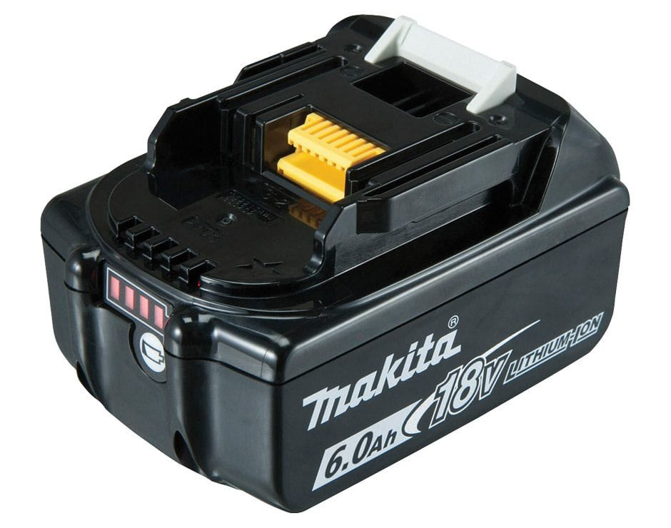 Makita BL1860B-L 18V 6.0Ah Li-ion Cordless Battery with Gauge