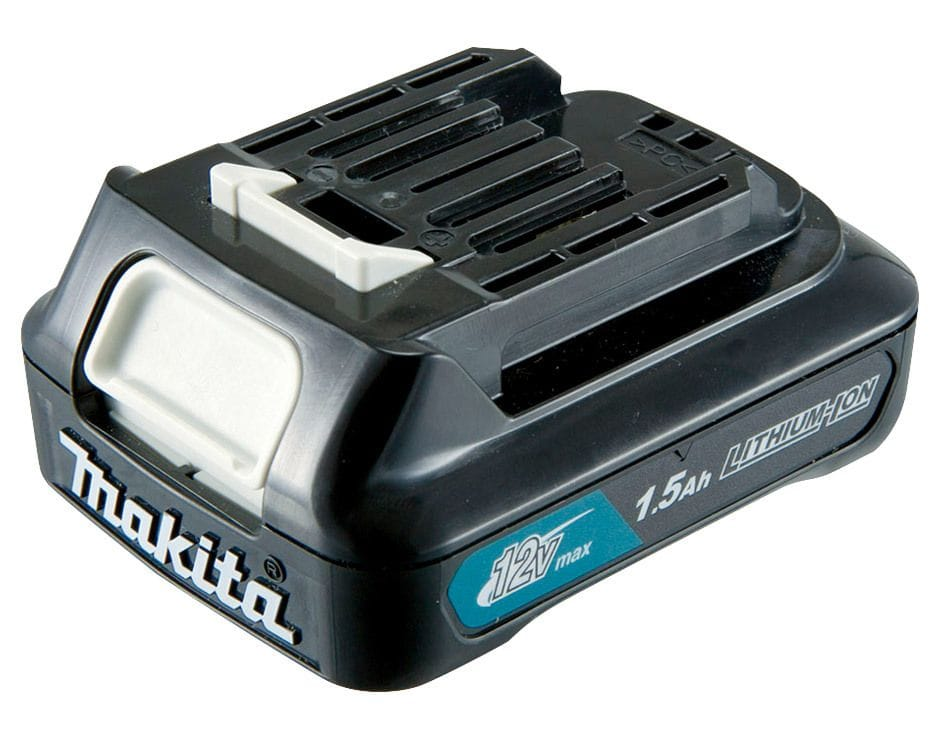 Makita BL1016-L 12V Max 1.5Ah Li-ion CXT Cordless Slide Battery