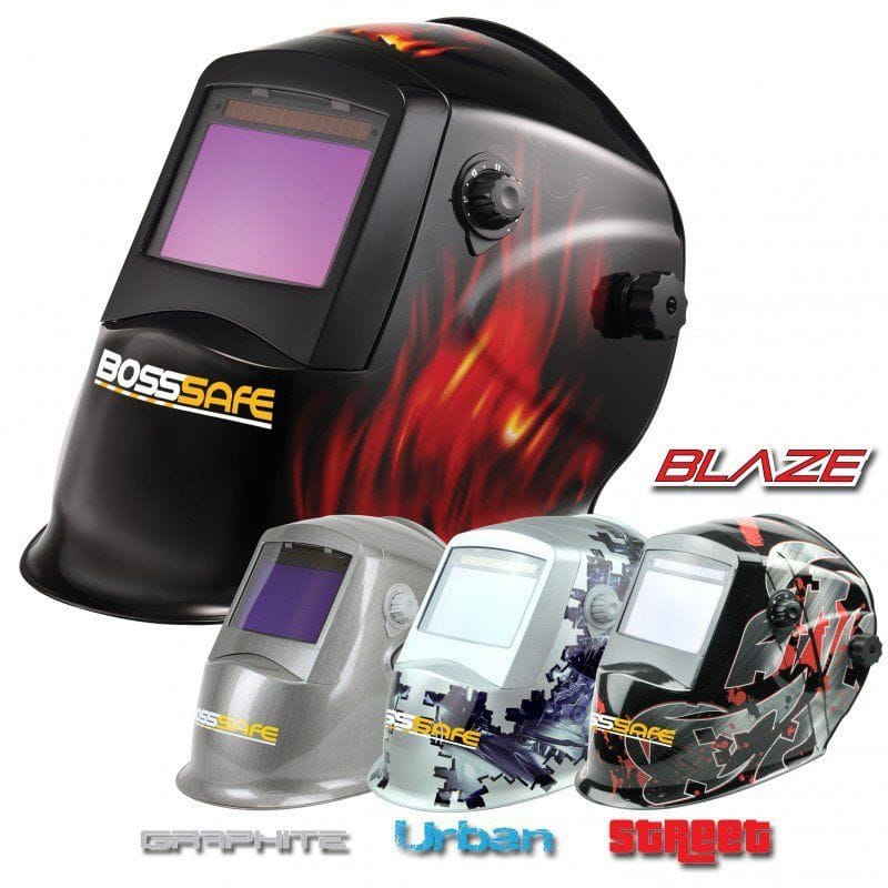 BossSafe Wide View Electronic Welding Helmets