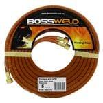 Bossweld Oxygen/LPG Twin Hose Assembly - 15Mt