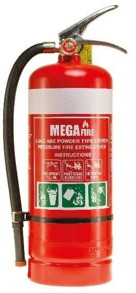 Fire Extinguisher Dry Chemical 2.5kg