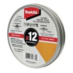 125 x 1.2 x 22.23mm Inox Cut Disc 12pc Tin
