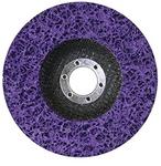 125mm x 22.23 Strip Disc Purple - F/Glass
