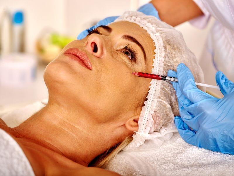 Rejuvenate Your Face with Plasma Rich Platelets