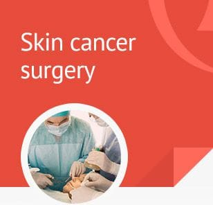 Click through to learn how Dr Burt treats BCC and SCC with skin cancer surgery and what happens at your first consultation