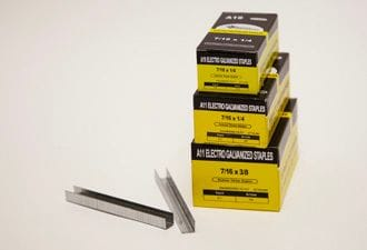"3/8"" Galv. Staples for R11 Tacker 5M/box"