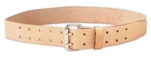 "Kuny EL-899 2"" Wide Work Belt - Double Tongue Buckle (waist 29""-46"")"