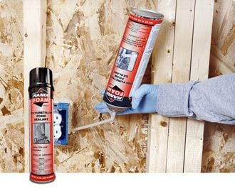 Handi-Foam P30101 Straw Foam Sealant 20oz