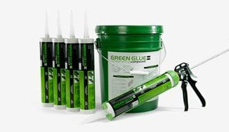 GREEN GLUE NOISEPROOFING COMPOUND 857ML/29OZ TUBE 12/CASE