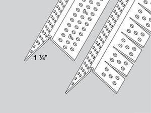 "T-Tex 1-1/4"" Archway Cor Bead 4110 10'"