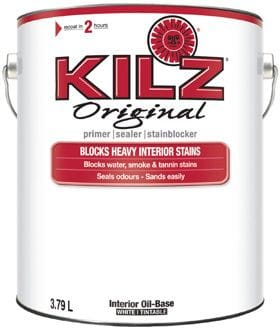 Kilz Original Stain Blocker 1 Gallon (Low VOC) (Smoke&Fire Damage)