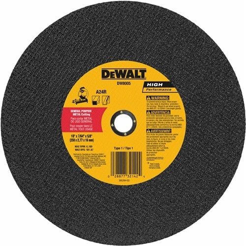 "DeWalt DW8003 14"" x 3/32 Stud Cutting Wheel"