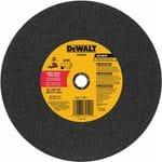 """DeWalt DW8003 14"""" x 3/32 Stud Cutting Wheel"""