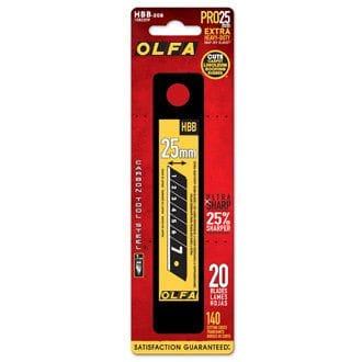 OLFA HBB-20B ULTRAMAX HD BLADES 20/PK