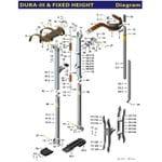 Dura Stilt III Parts