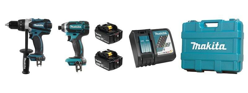 Makita DLX2015M 18v LXT 2 pc. Combo Kit Impact/Drill (4.0ah)