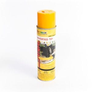 SEYMOUR INVERTED TIP 20OZ SPRAY PAINT UTIL.YELLOW 93620-978