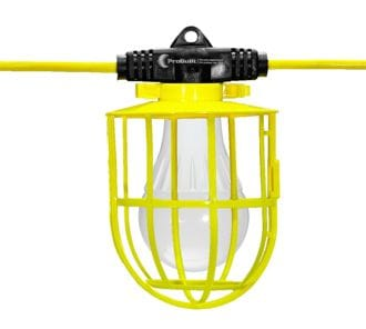 Wobblelite 50' String Light w/15w blb.5/string