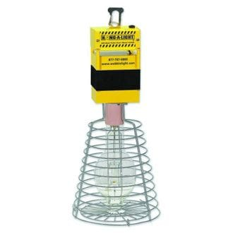 WOBBLE LIGHT 400W HANG- A-LIGHT M.HALIDE LIGHT