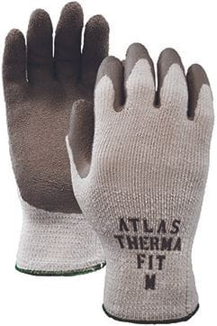 WATSON 300i ATLAS TOUGH GUY THER.INTERIOR RUBBER PALM GLOVES LG