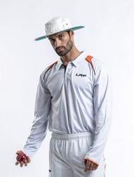 Cricket Playing Polo - Long Sleeve