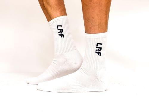 LRF Calf Length Sport Sock White