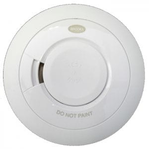 Brooks 10 year lithium smoke detector solution for Brisbane