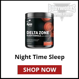 Bodyworks Mandurah Night Time Supplements | Supplement Store Mandurah | Nutrition Advice | Training Studios