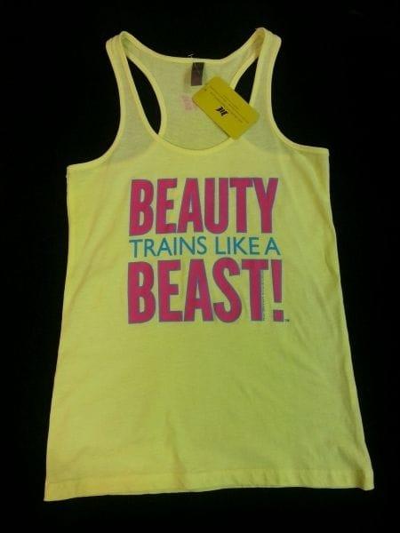 Beauty Trains Like A Beast - Yellow